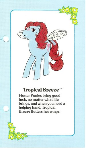 Tropical Breeze Fact File