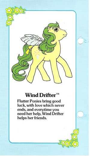 Wind Drifter Fact File