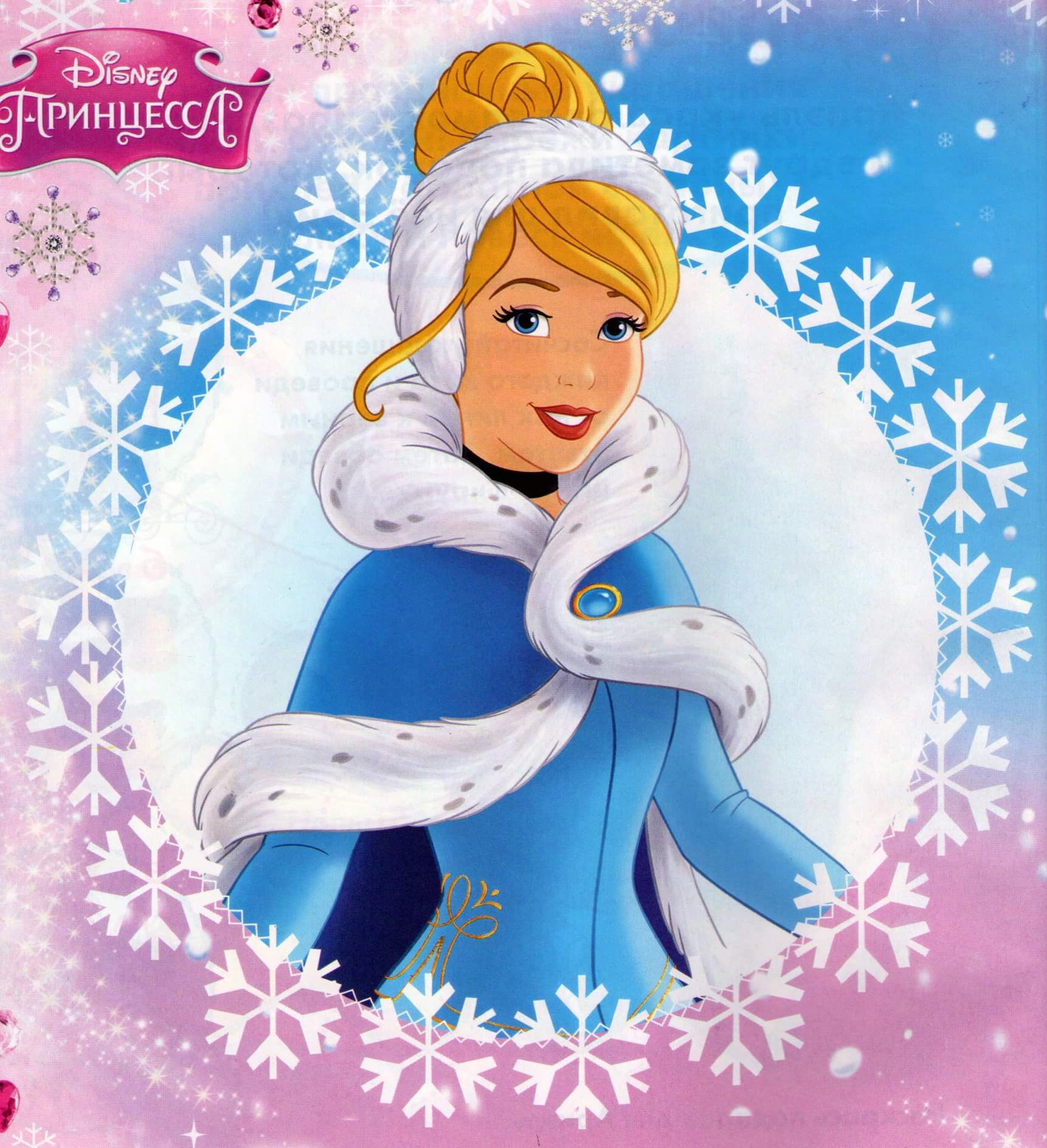 Winter Princesses Cinderella Disney Princess Photo 40372925