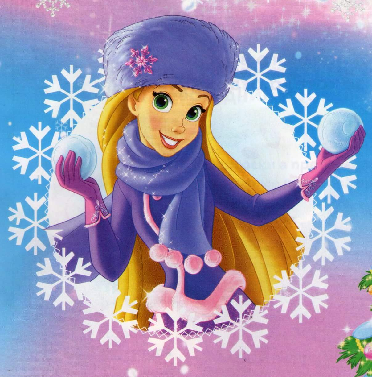 Disney Princess Images Winter Princesses Rapunzel Hd Wallpaper And
