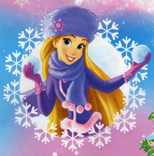 Winter Princesses - Rapunzel