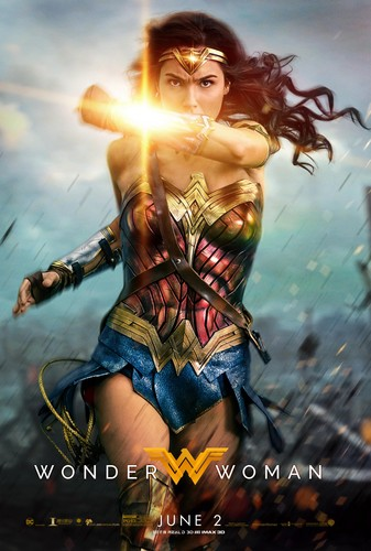 Wonder Woman (2017) 壁纸 entitled Wonder Woman (2017) Poster