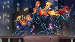 World of Winx پیپر وال