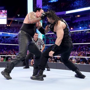 Wrestlemania 33: Roman Reigns vs. The Undertaker