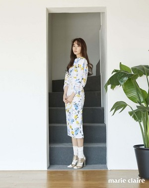 YOON EUN HYE FOR APRIL'S MARIE CLAIRE