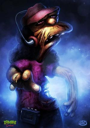 Zombie Simpsons Otto