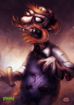 Zombie Simpsons Willie