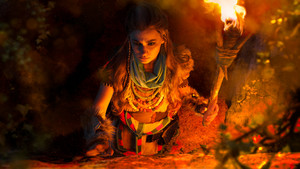 aloy horizon zero dawn cosplay oleh luckystrikecosplay db2a07z