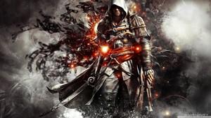 assassins creed 4 black flag 2 wolpeyper 1366x768