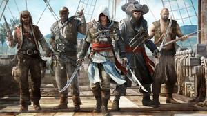 assassins creed iv black flag 7 kertas dinding 1366x768