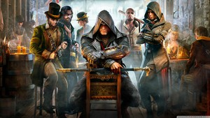 assassins creed syndicate wolpeyper 1366x768