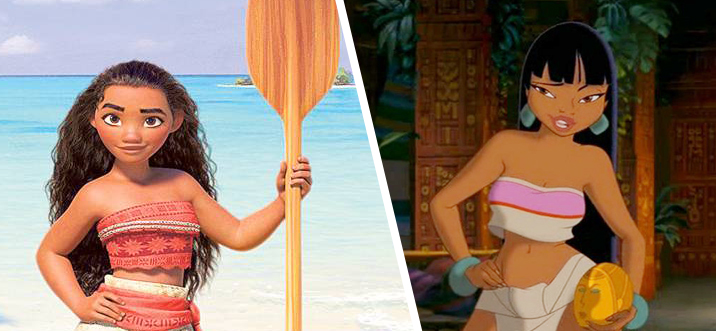 childhood animated movie heroines images chel vs moana wallpaper and
