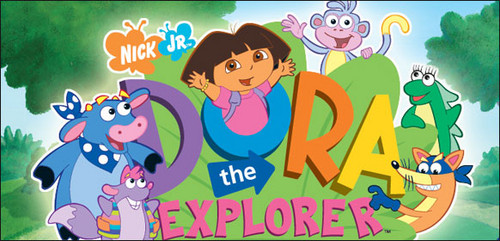Dora the Explorer wallpaper entitled dora the explorer nick jr 4838