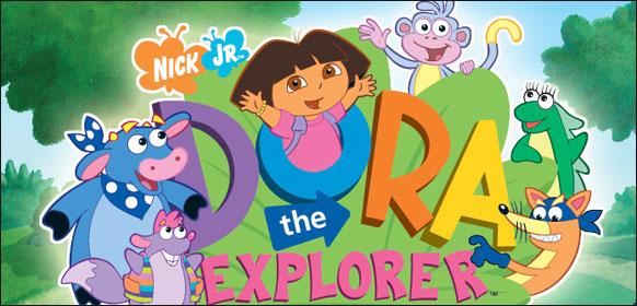 dora the explorer nick jr 4838