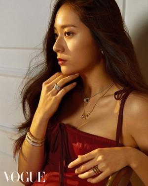 f(x)'s Krystal for 'Vogue'