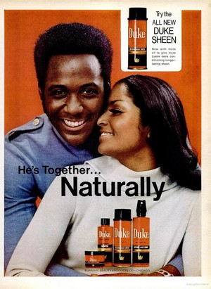 Promo Ad For Duke Hair Care Line