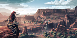 horizon zero dawn carja lands kwa onlychasing safety db2wdft