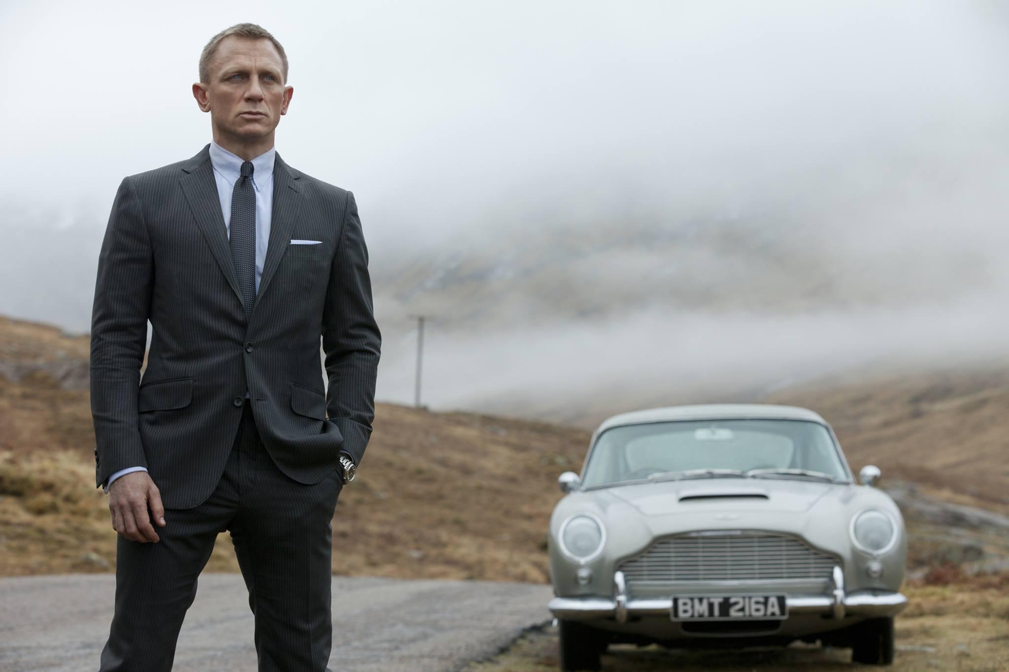 james Bond - Skyfall scottish highlands scene.
