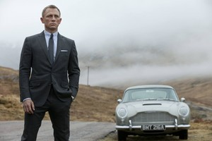 james Bond - Skyfall scottish highlands scene.
