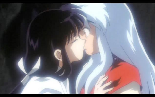 Kikyo Kisses Inuyasha Movie Inuyasha And Kikyo Foto 40321064