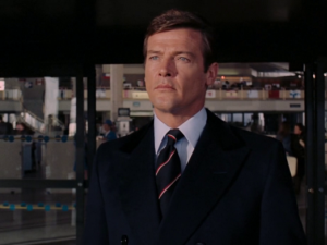 "Sir Roger Moore Debut As ""007"""