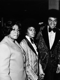 Michael With His Parents