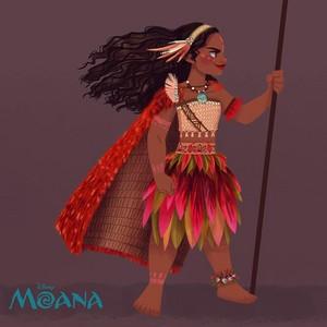 moana - awesome art.