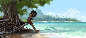 moana - awesome art.