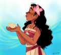 moana - awesome art. - moana fan art