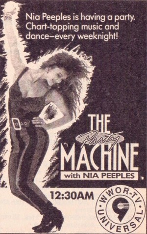 Promo Ad For The Party Machine