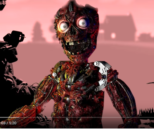 Five Nights At Freddy's hình nền titled purple guy enside springtrap.PNG