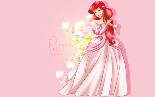 princesas de disney fondo de pantalla called the Little Mermaid - Ariel
