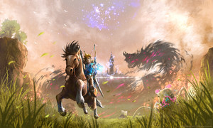 tloz breath of the wild door eternalegend da6qrf5