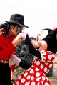 Michael Jackson And Minnie  - disney photo