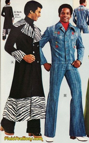 """'70's"" Fashion For Men"
