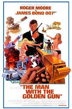 Man With The Golden Gun Poster
