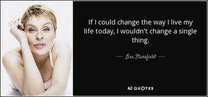 Quote From Lisa Stansfieid