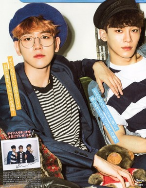 [SCAN] EXO-CBX for Popteen Japanese Magazine June 2017 Issue