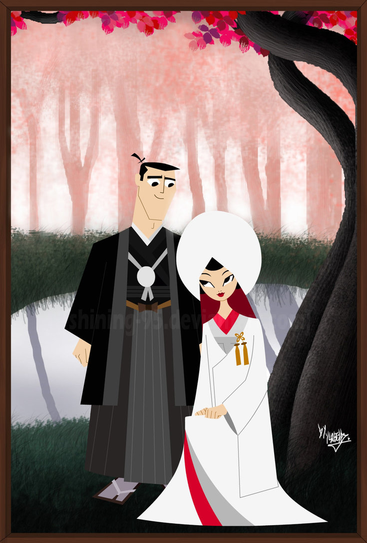 Samurai Jack Images Samurai Jack And Ashi Wedding