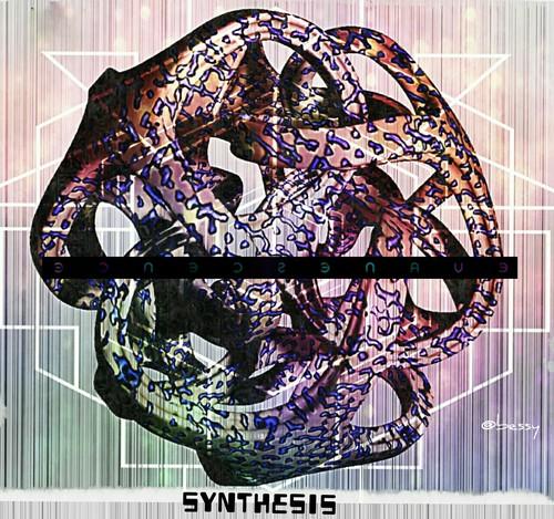 에반에센스 바탕화면 titled 'Synthesis' album cover
