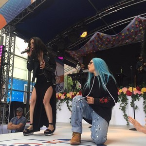 Halsey and Lauren