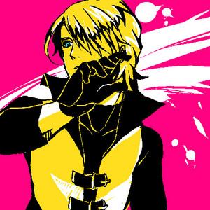 1D merah jambu and Yellow