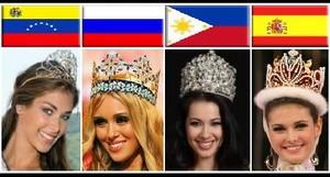 2008 Beauty Pageant Winners