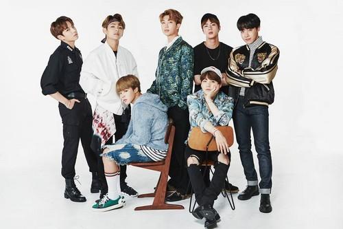 BTS achtergrond called 2017 BTS FESTA
