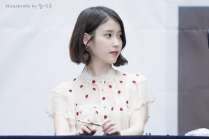 20170507 IU Palette Fansign at Time Square
