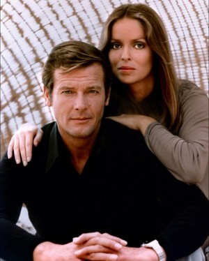Barbara Bach And Sir Roger Moore