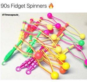 90s Fidget Spinners
