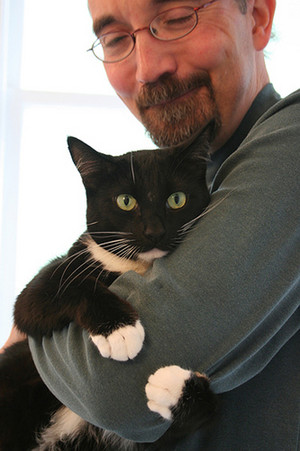 A Man And His Cat
