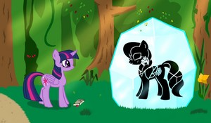 About Blackfeathers-Pony in a crystal