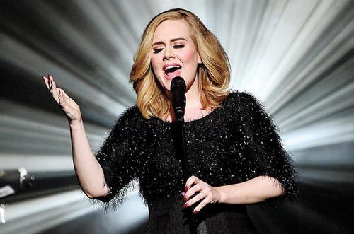 Adele wallpaper called Adele Sings